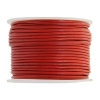 Leather Round Cord 1.5mm Red